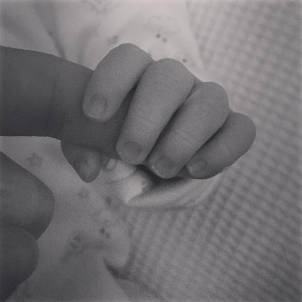 <p>TV presenter Alex Jones and husband Charlie Thomson welcomed their first child at the end of January. The couple named their son Edward Alan Burrell – Teddy for short. <i>[Photo: Instagram/alexjonesthomson]</i> </p>