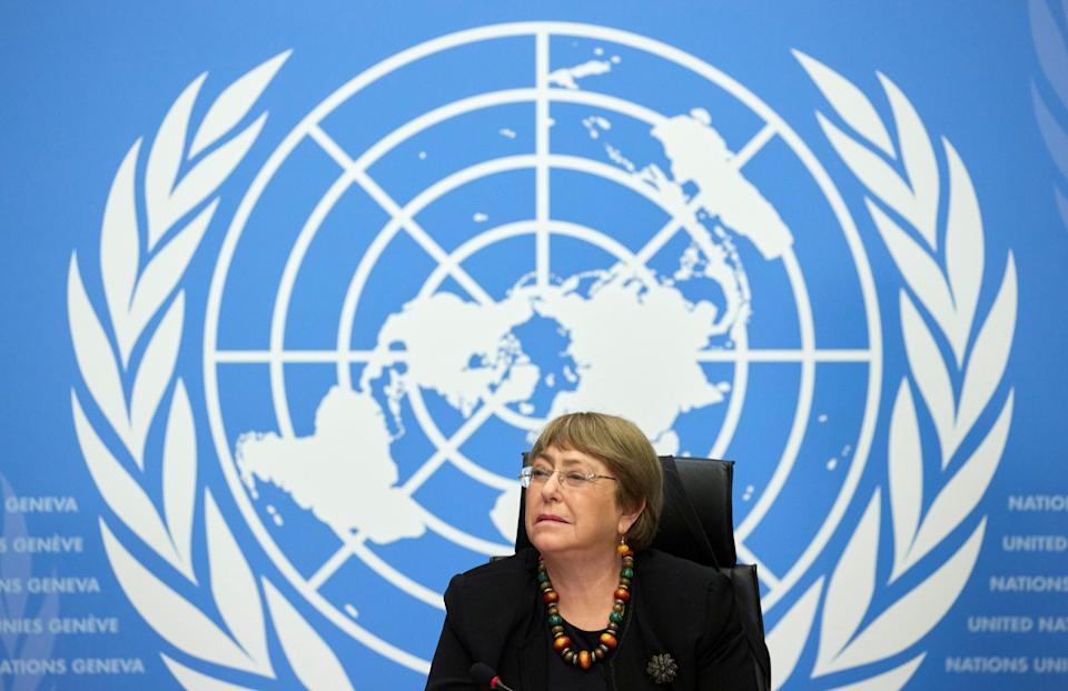 UN High Commissioner for Human Rights Michelle Bachelet  (REUTERS)