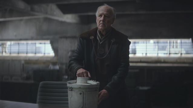 Werner Herzog in the first season of 'The Mandalorian'. (Credit: Disney+)