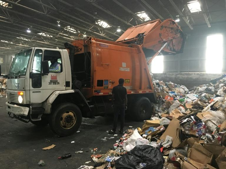 The US generates around 12 percent of global municipal solid waste -- approximately 239 million tonnes annually