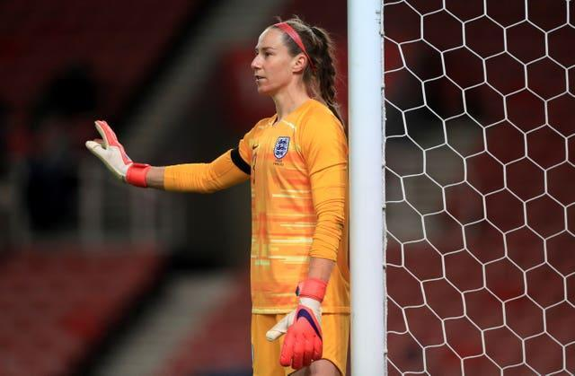England and Manchester City goalkeeper Karen Bardsley, who has been on loan at OL Reign, is one of five players in the GB squad who were involved at London 2012 (Mike Egerton/PA).