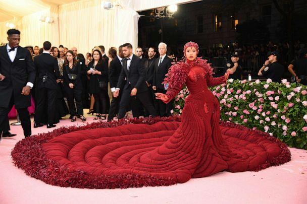 PHOTO: Cardi B attends the 2019 Met Gala Celebrating Camp: Notes on Fashion at the Metropolitan Museum of Art, May 6, 2019, in New York City. (Dimitrios Kambouris/Getty Images for The Met Museum)