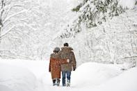 "<p>Bundle up and explore a local trail or just take a walk in your neighborhood. If it's extra chilly out, put some hot chocolate in a thermos to sip on your way.</p><p><a class=""link rapid-noclick-resp"" href=""https://go.redirectingat.com?id=74968X1596630&url=https%3A%2F%2Fwww.walmart.com%2Fsearch%2F%3Fquery%3Dwinter%2Bscarves&sref=https%3A%2F%2Fwww.thepioneerwoman.com%2Fholidays-celebrations%2Fg35118424%2Fthings-to-do-on-valentines-day%2F"" rel=""nofollow noopener"" target=""_blank"" data-ylk=""slk:SHOP WINTER SCARVES"">SHOP WINTER SCARVES</a></p>"