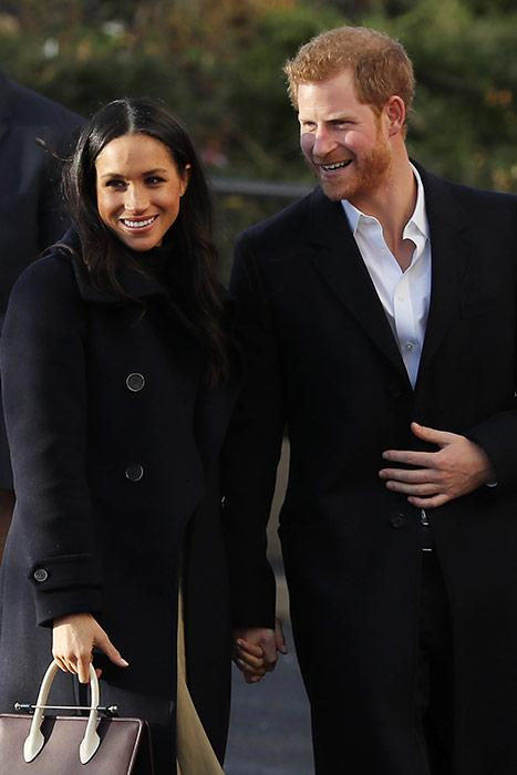 Meghan Markle and Prince Harry on their first royal engagement