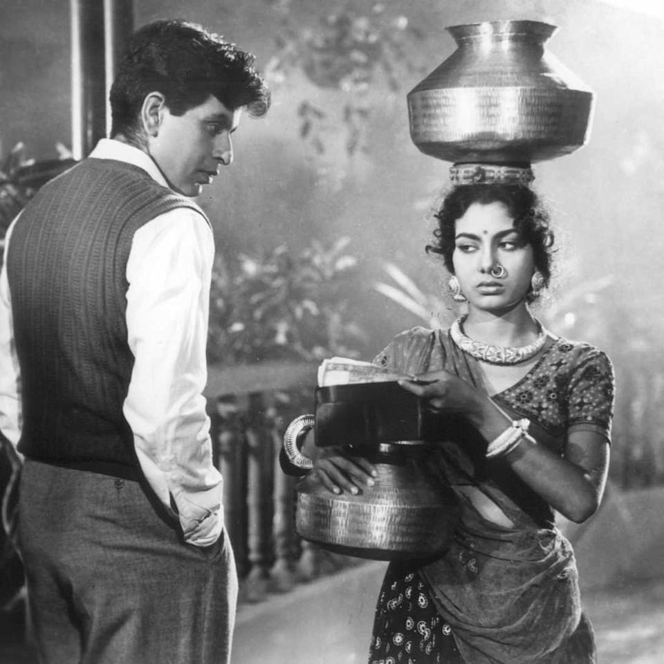 "The emphatic inebriation portrayed by the tragedy king not only made the despondency of ""Shankar"" convincing for his audience, but also won the actor his first ever Filmfare award. This story of a poor toy-seller who departs to city and returns with heaps of money, only to find the love of his life being betrothed to someone else, goes through several ups and downs before reaching its ""... happily ever after."""