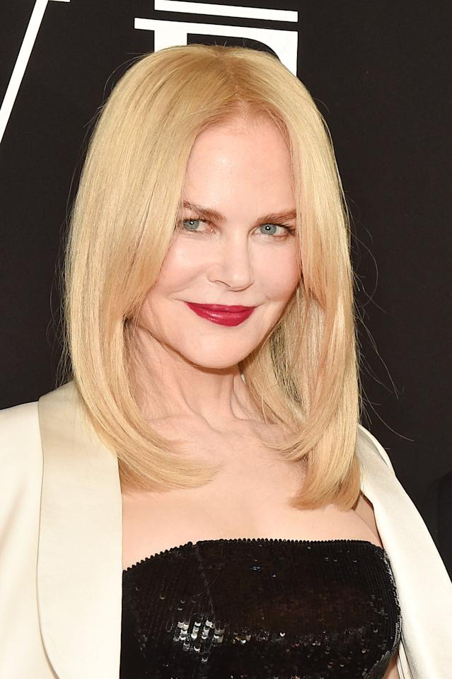 <p>The <strong>Big Little Lies</strong> star plays Gretchen Carlson, who was among the first to publicize Roger Ailes's sexual harassment.</p>
