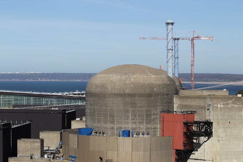 The Flamanville nuclear power plant in northwestern France, first came online in the 1980s (AFP Photo/CHARLY TRIBALLEAU)