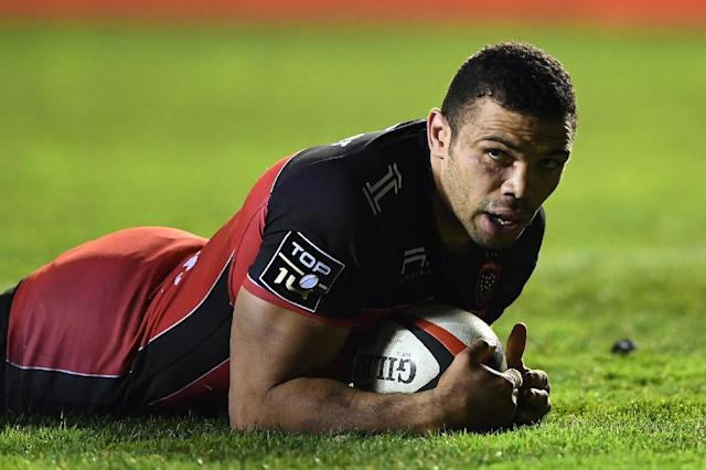 Bryan Habana holds the record for the most Springbok appearances (AFP Photo/BORIS HORVAT)