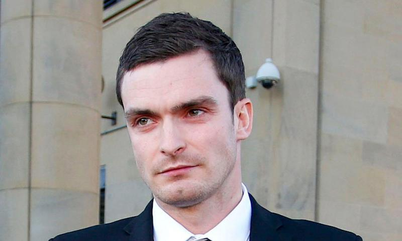 Adam Johnson, who last month lost a second attempt to overturn his conviction.