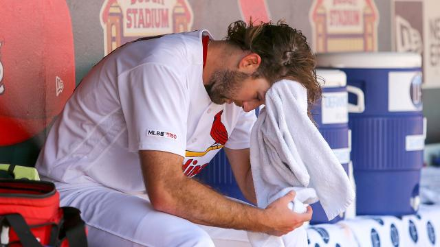 Michael Wacha's woes continued for the St Louis Cardinals on Wednesday.