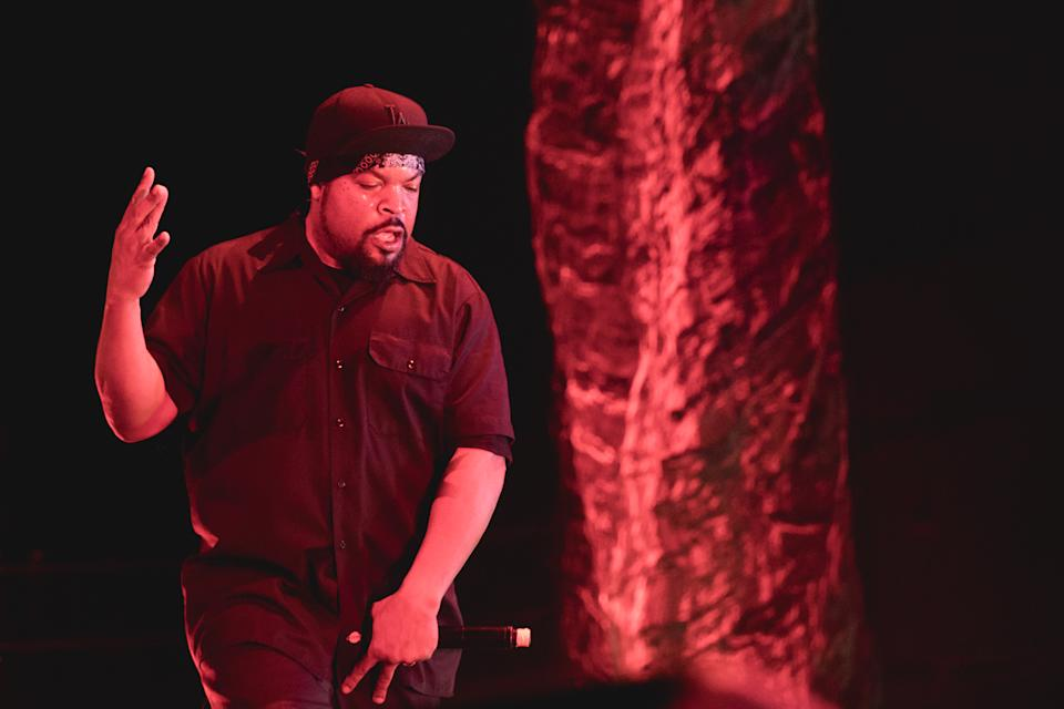 AUSTIN, TEXAS - MARCH 17: Rapper Ice Cube performs in concert at ACL Live on March 17, 2019 in Austin, Texas. (Photo by Rick Kern/WireImage)