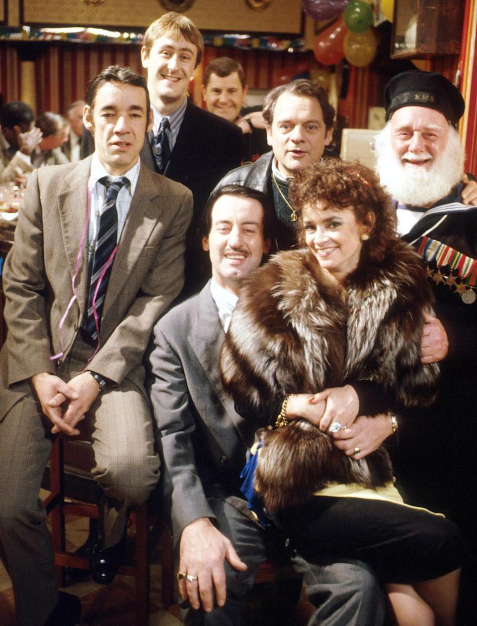John Challis (front) in Only Fools and Horses