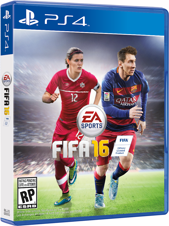 FIFA 16 cover will feature women stars Morgan and Sinclair in US and Canada