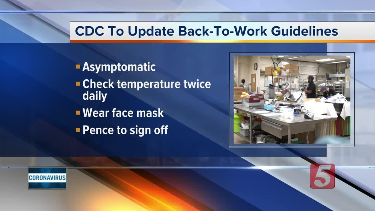 COVID-19: CDC may loosen back to work guidelines Video