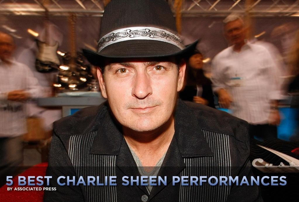 "Let's go back to a happier, simpler time, back when Charlie Sheen was known primarily as an actor, and not a multimedia motormouth who's coined such instant catchphrases as ""winning"" and ""tiger blood,"" and behaved so erratically that he lost his high-paying TV gig.   For a while there -- mostly in the '80s -- Sheen made movies, like his father, Martin Sheen, and his brother, Emilio Estevez. Sure, he appeared in his share of idiotic comedies and action flicks, but he also delivered some strong roles and worked with some daring directors. So let's take a look at Sheen's <a href=""http://movies.yahoo.com/news/movies.ap.org/5-best-charlie-sheen-performances-ap"">five best performances</a> -- outside of his Twitter account or webcast ""Sheen's Korner,"" that is:"