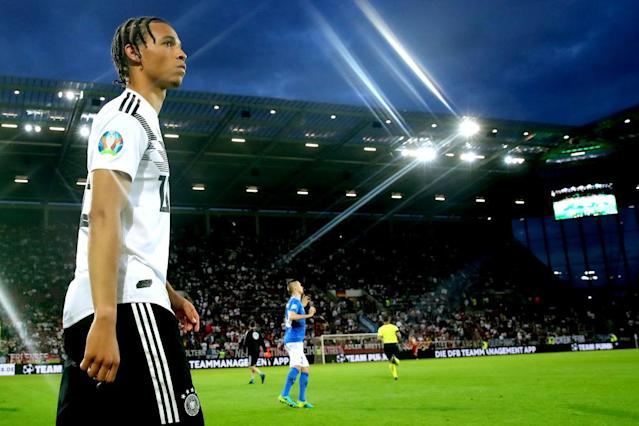 Leroy Sane (Photo by Alexander Hassenstein/Bongarts/Getty Images)