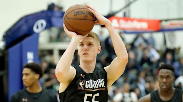 Where will Kevin Huerter go in the draft? The Crossover's Front Office breaks down his strengths, weaknesses and more in its in-depth scouting report.