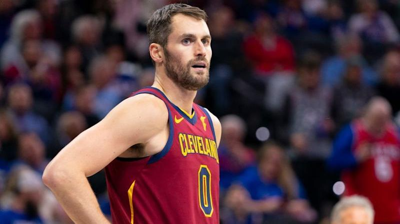 Cavaliers star Kevin Love out with sickness