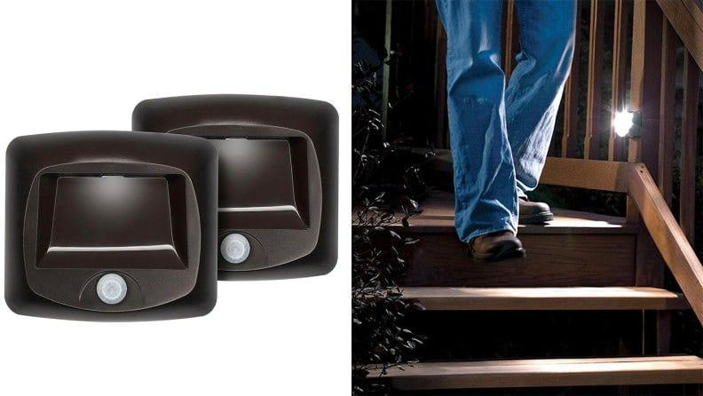 A safer way to navigate the stairs when it's dark.