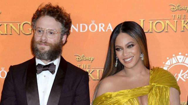 'The Lion King' star Seth Rogen personally apologized to Beyoncé for shared song (ABC News)