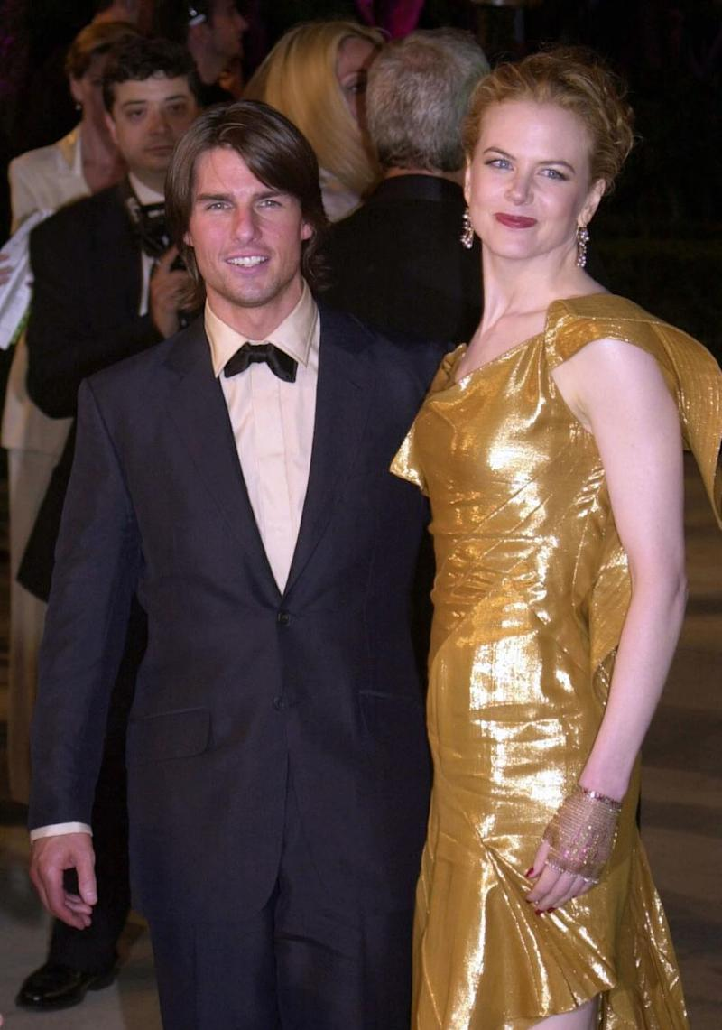 Nicole and Tom were married for 11 years. Source: Splash