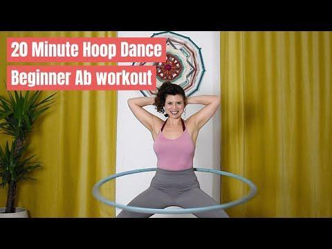 """<p>A slightly longer session for beginners, you'll hula hoop for twenty minutes, starting slowly and speeding up as you build confidence. The exercises are designed to work your obliques – the muscles that run down the sides of your abs. Laughing tomorrow might be a tricky task... </p><p><a href=""""https://www.youtube.com/watch?v=0HZVBDDjKW4&ab_channel=HoopPlusFitwithScarlett"""" rel=""""nofollow noopener"""" target=""""_blank"""" data-ylk=""""slk:See the original post on Youtube"""" class=""""link rapid-noclick-resp"""">See the original post on Youtube</a></p>"""
