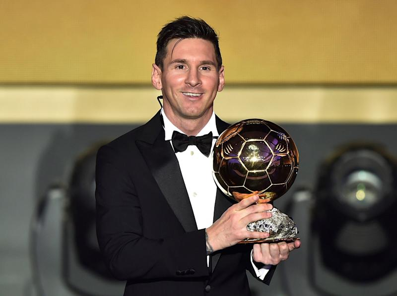 Lionel Messi has won the 2019 Ballon d'Or: AFP