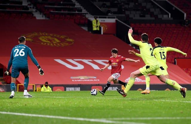 Daniel James fired Manchester United back in front in the second half