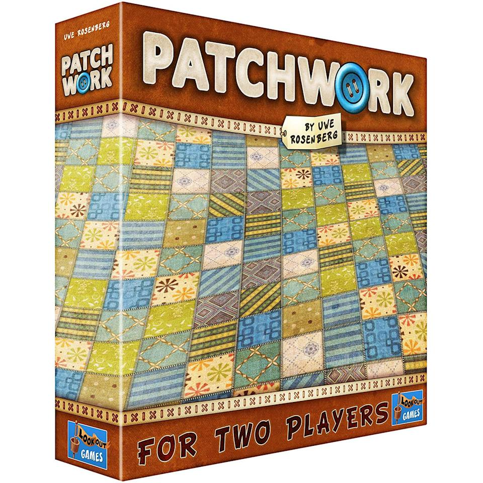 patchwork brown board game, 2 person board games