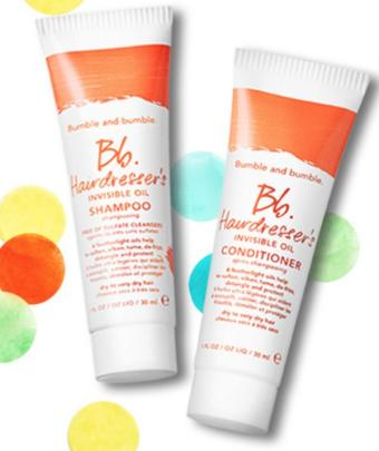 3 Bumble Invisible Oil Shampoo And Conditioner