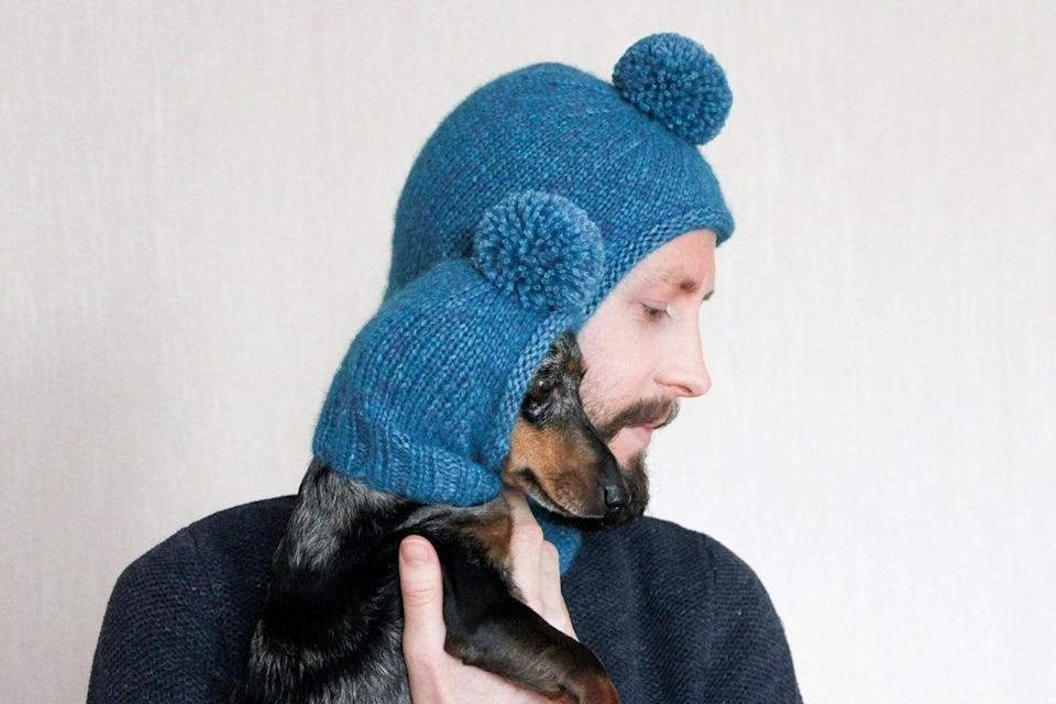 """<h2><a href=""""https://www.etsy.com/listing/687388614/knitting-pattern-bundle-balaclava-hat"""" rel=""""nofollow noopener"""" target=""""_blank"""" data-ylk=""""slk:Lucky Fox Knits Knitting Pattern"""" class=""""link rapid-noclick-resp"""">Lucky Fox Knits Knitting Pattern</a><br></h2><br>The reviews on this Etsy pattern for knitting your own balaclava make it sound <em>so </em>easy. Why spend almost $150, when you can make your own matching cozy caps? <em>That pom-pom.</em><br><br><strong>Etsy, Etsy Seller</strong> Balaclava Knitting Pattern, $, available at <a href=""""https://go.skimresources.com/?id=30283X879131&url=https%3A%2F%2Fwww.etsy.com%2Flisting%2F687388614%2Fknitting-pattern-bundle-balaclava-hat"""" rel=""""nofollow noopener"""" target=""""_blank"""" data-ylk=""""slk:Etsy"""" class=""""link rapid-noclick-resp"""">Etsy</a>"""