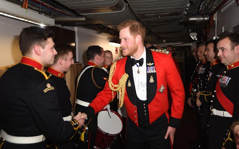 Prince Harry was said to have been particularly hurt by the stripping of his honorary military appointments - EDDIE MULHOLLAND/AFP