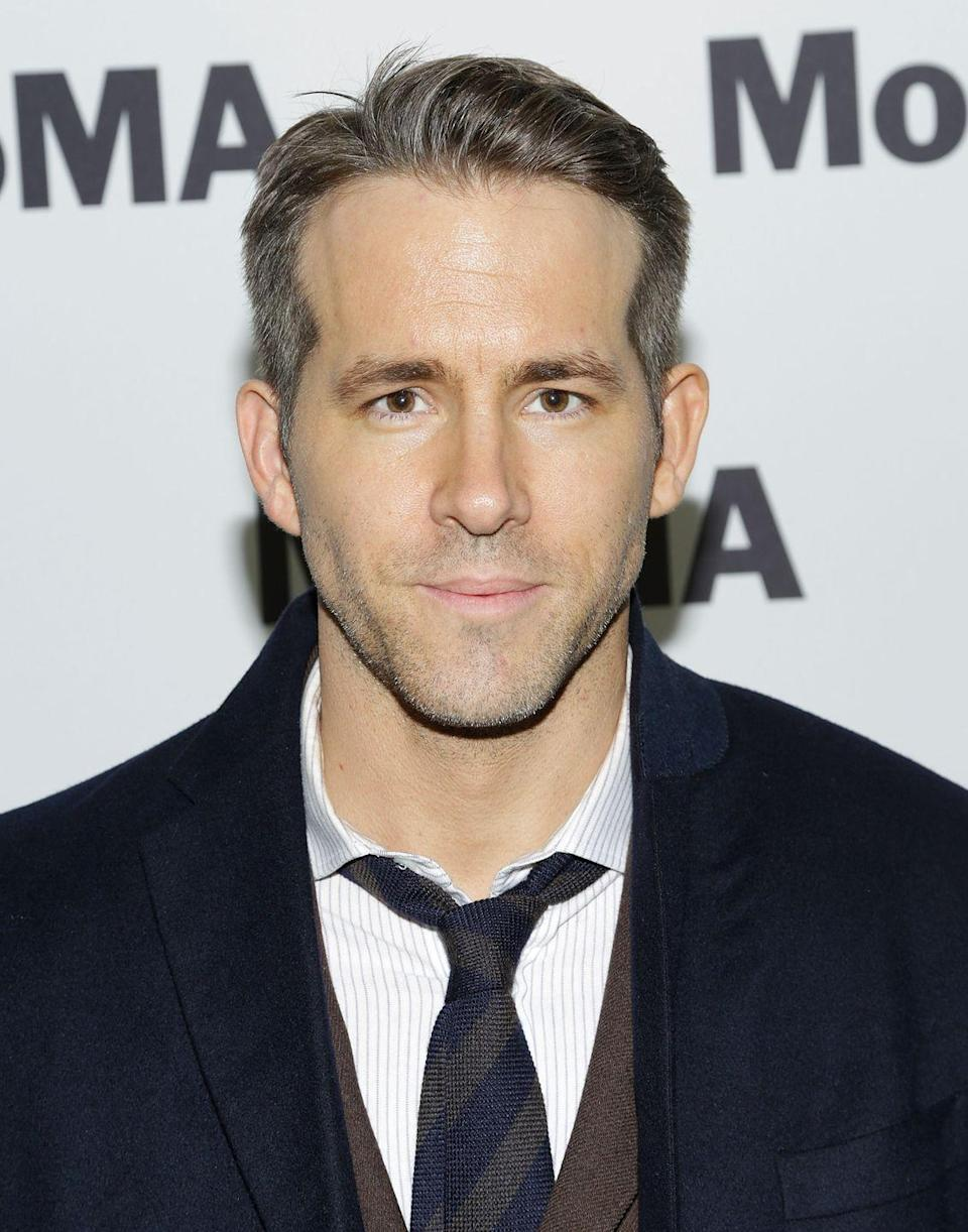 <p>Although Reynolds switches up his hair for different roles, the actor gave us a taste of his more natural look when he let his gray hair peep out recently. </p>