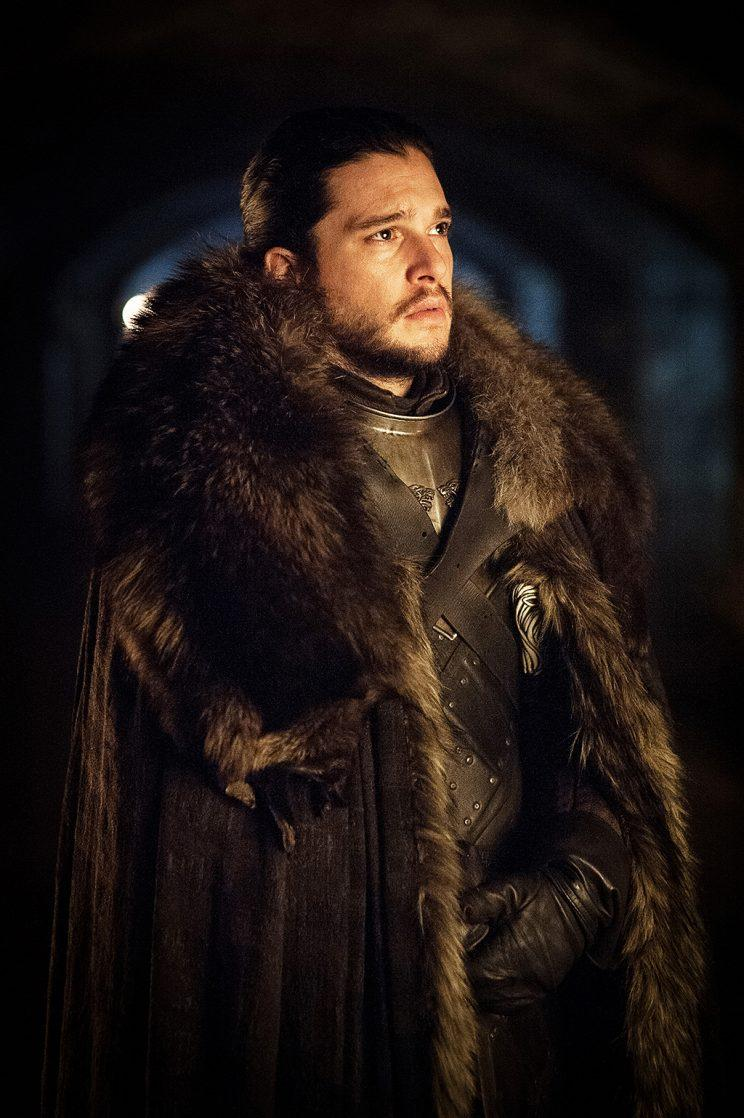 Kit Harington as Jon Snow in HBO's Game of Thrones . (Photo Credit: HBO)