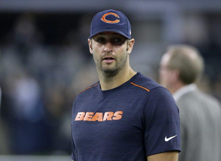 Jay Cutler said he's not coming back to the NFL. (AP)