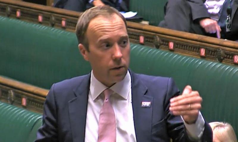 MPs try to talk Matt Hancock down from the heights of delusion