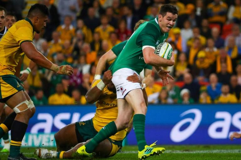 Fly-half Johnny Sexton is a key man for Ireland