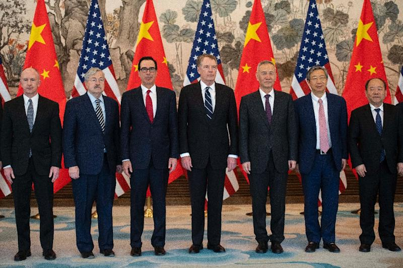 Global stocks rose on hopes of a trade deal between representatives of the US and China, who were photographed at a meeting last week in Beijing