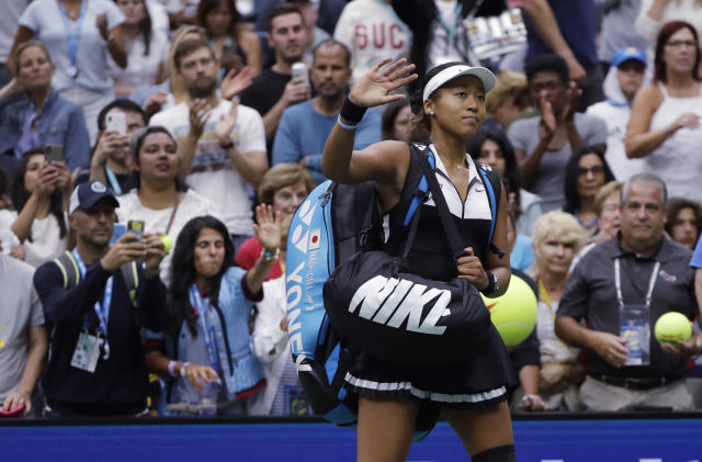 Naomi Osaka is again in the market for a new coach after parting ways with Jermaine Jenkins. (AP Photo)