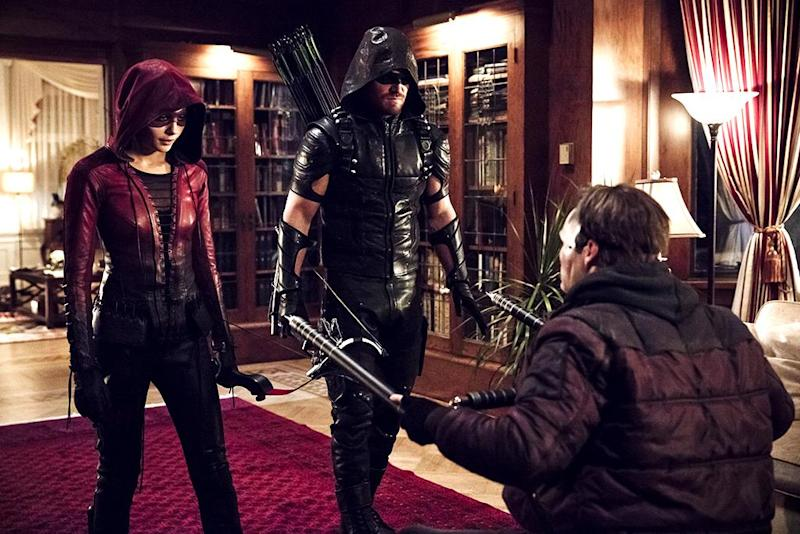 Arrow midseason trailer shows the return of Roy Harper and Katana