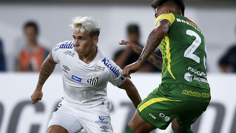 Ronaldo fan Soteldo dreaming of Manchester United move after sparking transfer talk with Santos form