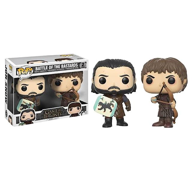 <p>Rumors that a rare variant including a third figure of Rickon with an arrow in his back are completely false and were probably started here. </p>