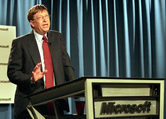 bill gates microsoft 2001