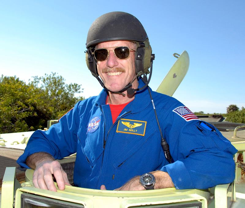 USGS Director James Reilly is a former astronaut and oil-industry geologist. (Photo: REUTERS/NASA Kim Shiflett)
