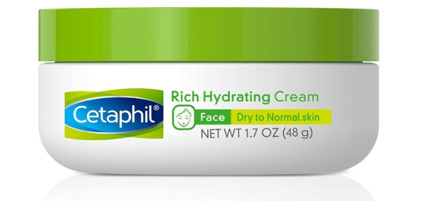 Cetaphil Rich Hydrating Night Cream with Hyaluronic Acid, 1.7 Ounce/Amazon.com.mx