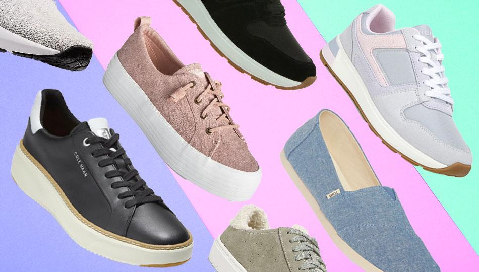 The Nordstrom Anniversary Sale is packed with name-brand sneakers that promise all-day comfort for  prices that can't be beat. (Photo: Nordstrom/Getty)