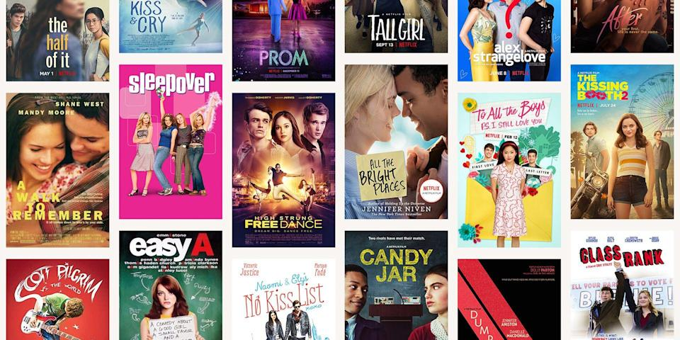 <p>Looking for a fun rom-com to watch for your next big sleepover? Or just want something super romantic to watch with your SO as you do another new movie night together? Luckily, Netflix has a ton of teen romance movies that are perfect for any occasion. Some are perfect for a fun night in, while others will totally make you wish that you can join them on their crazy adventures.</p><p>So make a giant bowl of popcorn and get cozy under some covers, cause there are plenty of films here to watch. These are the best teen romance films to watch on Netflix...</p>