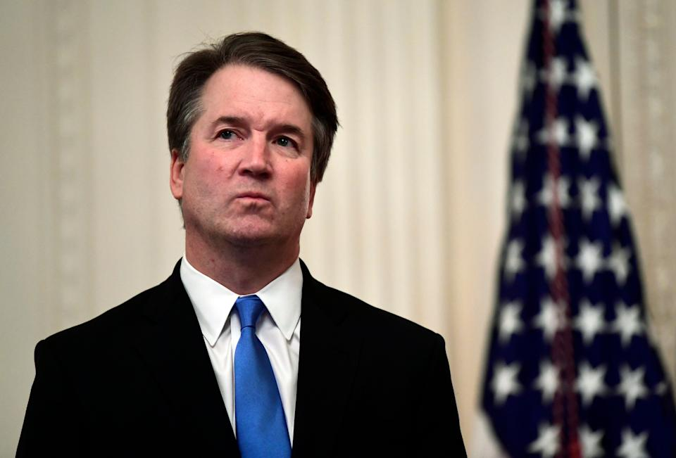 Supreme Court Justice Brett Kavanaugh issued a decision casting suspicion on late-counted ballots while affirming his support for blocking state courts from expanding voting rights. (Photo: Susan Walsh/ASSOCIATED PRESS)