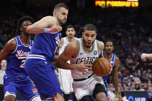 The Celtics' shabby play of late finally caught up to them