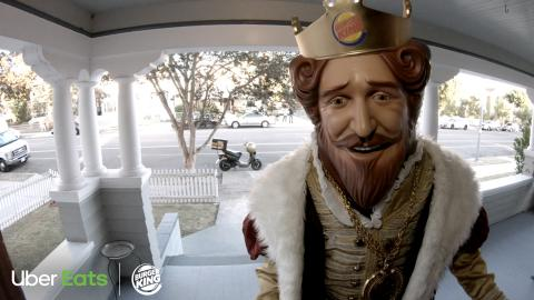 BURGER KING® Restaurants Partners With Uber Eats for Delivery